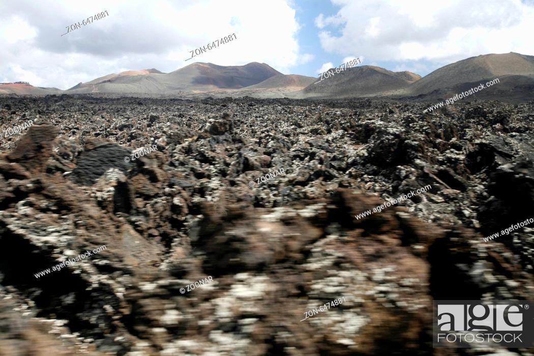 Stock Photo: EUROPE CANARY ISLANDS LANZAROTE.