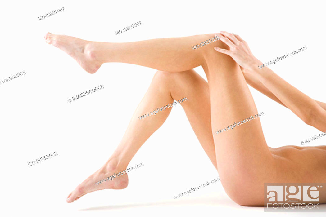 Stock Photo: Legs of a nude woman.