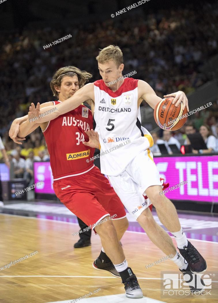 Niels Giffey Ger In Duels Versus Moritz Lanegger L Aut Action Stock Photo Picture And Rights Managed Image Pic Pah 106239036 Agefotostock