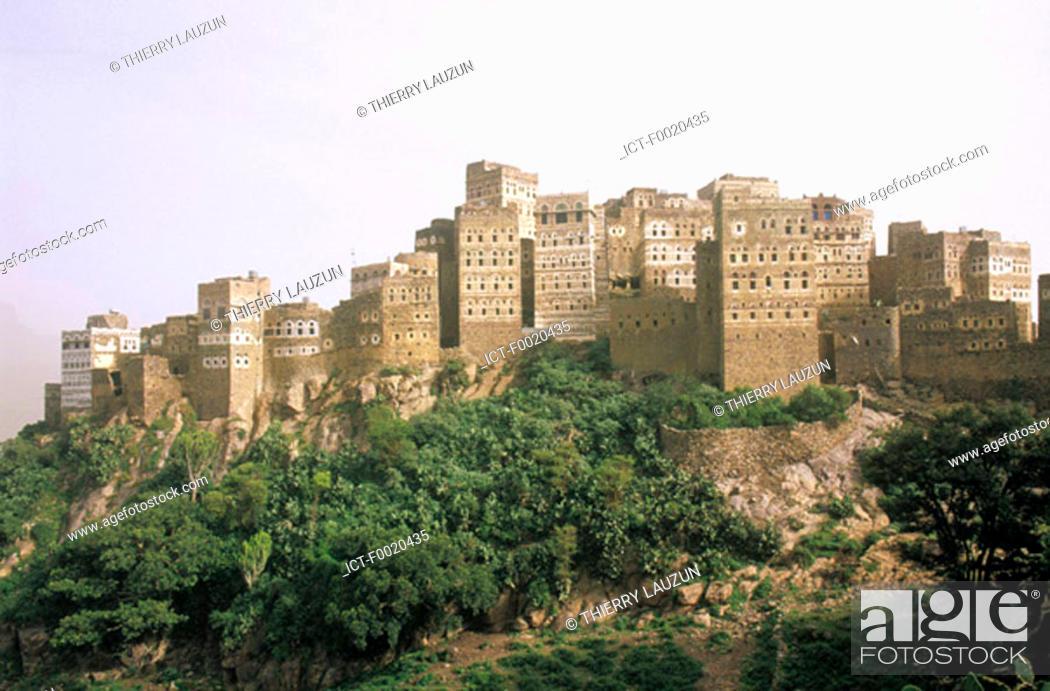 Stock Photo: Yemen, Al Hajjara.