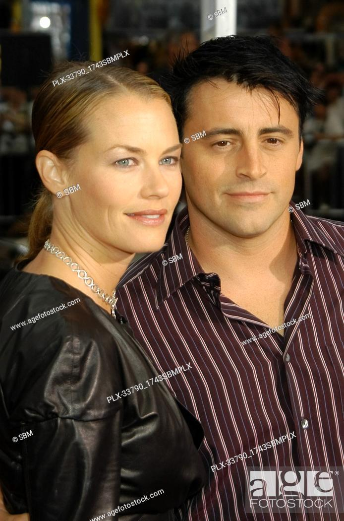 """Stock Photo: Matt LeBlanc & Wife Melissa at the Premiere of Columbia Pictures' """"""""Charlie's Angels: Full Throttle"""""""", held at Grauman's Chinese Theater in Hollywood, CA."""