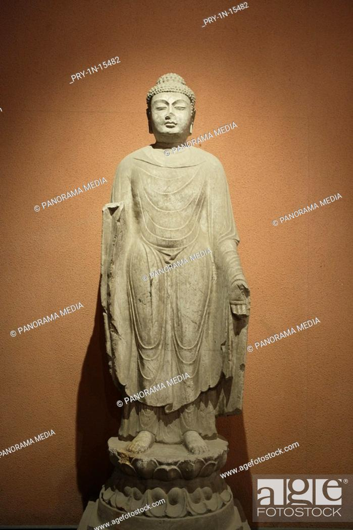 Stock Photo: Close-up of stone carving, Xi An.