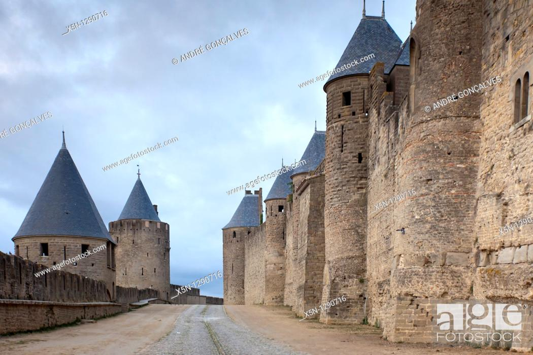 Stock Photo: Carcassonne, France.