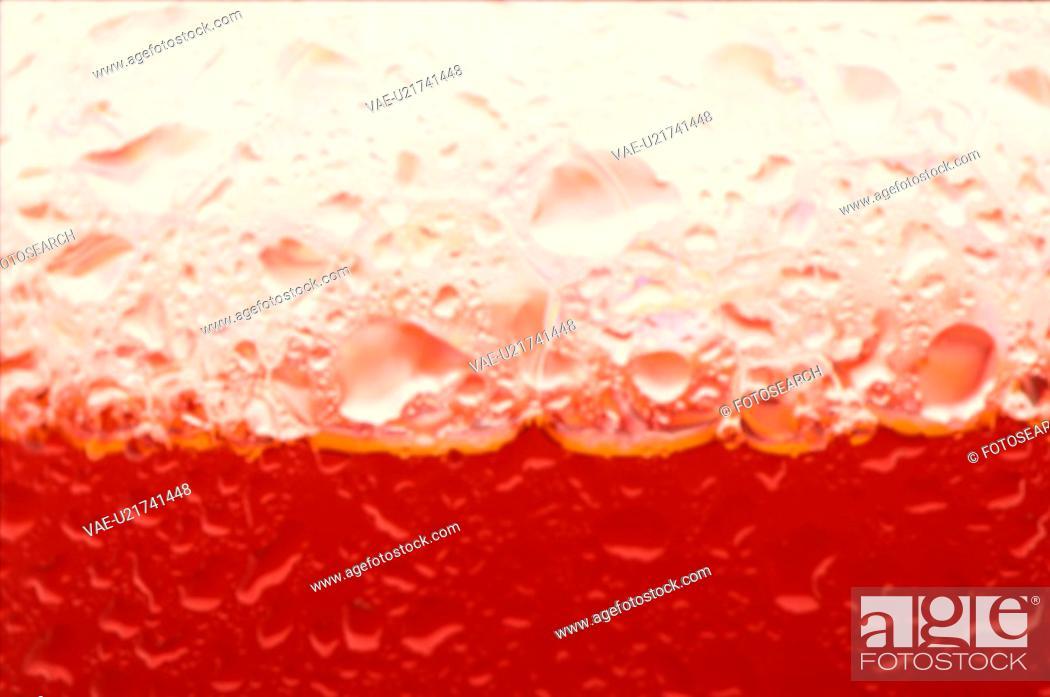 Stock Photo: Red Foam.