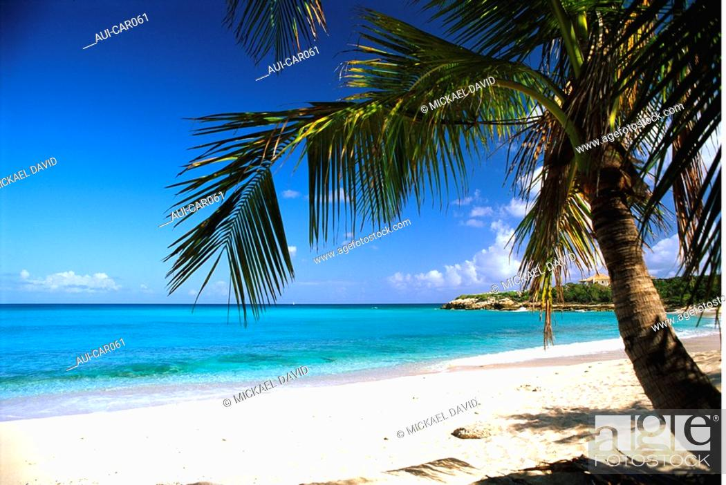 Stock Photo: Caribbean - Saint Martin Island - Friar's Bay.