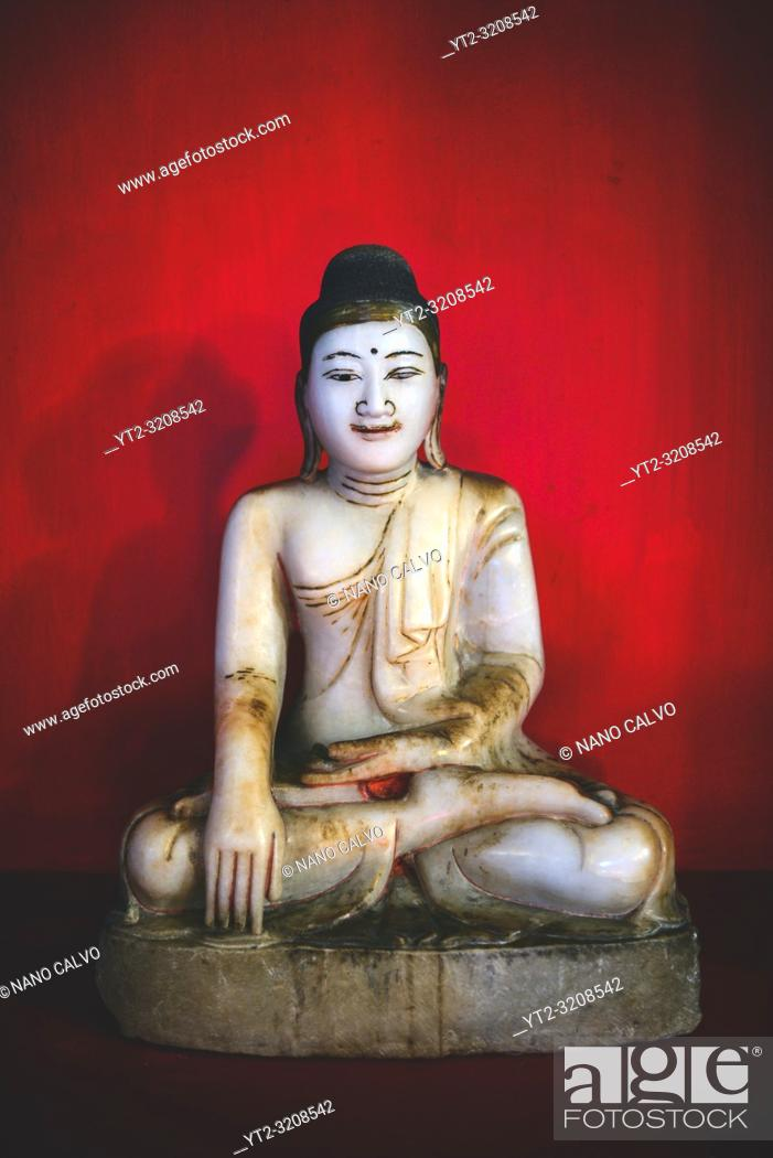 Stock Photo: Golden Temple Buddhist Museum in Dambulla, Sri Lanka.
