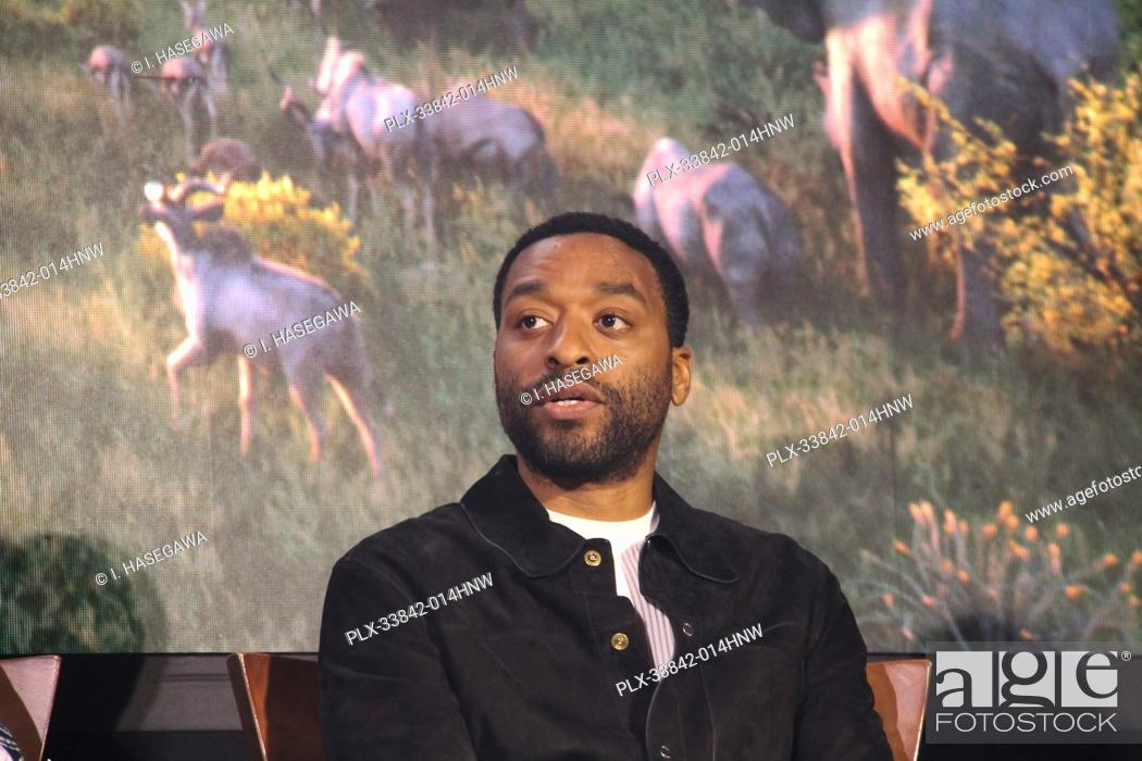 """Stock Photo: Chiwetel Ejiofor 07/10/2019 """"""""The Lion King"""""""" Press Conference held at the Montage Beverly Hills Luxury Hotel in Beverly Hills, CA. Photo by I."""