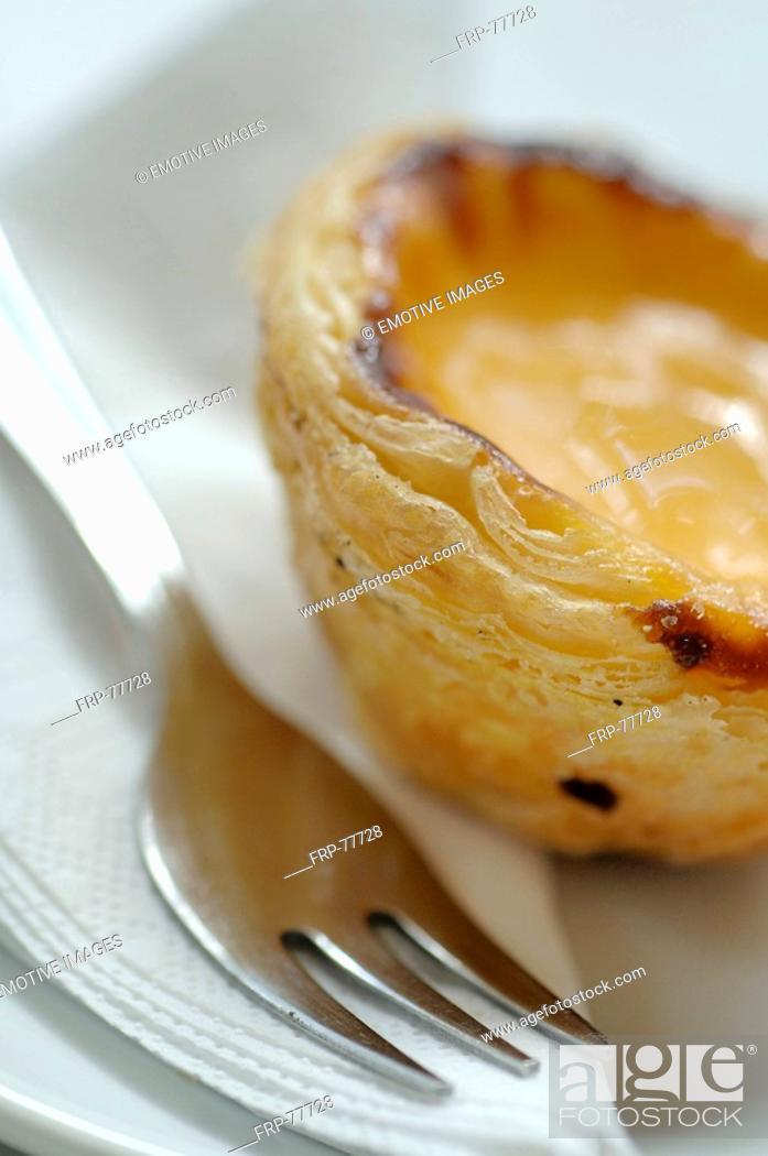 Stock Photo: coffee pastry.