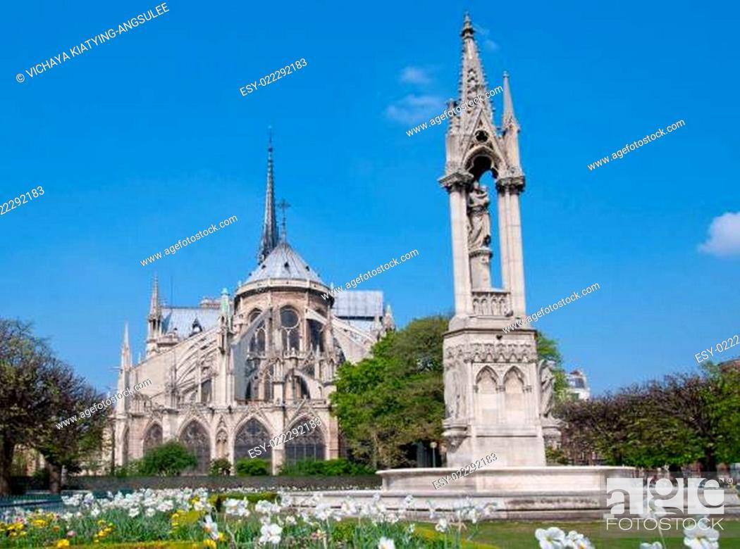 Stock Photo: Cathedral Notre Dame.
