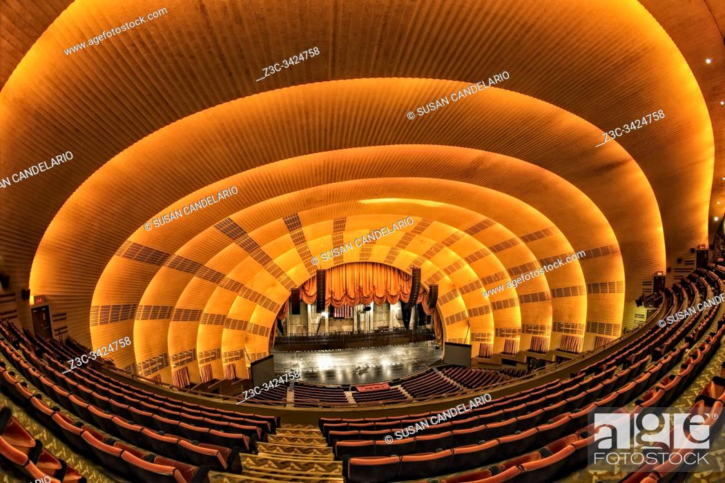 Stock Photo: Radio City Music Hall.