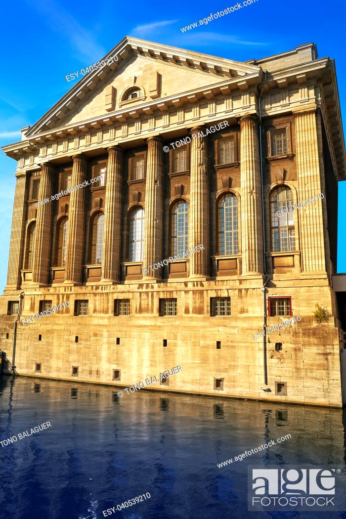 Stock Photo: Berlin Pergamonmuseum Museum near Bode in Germany.