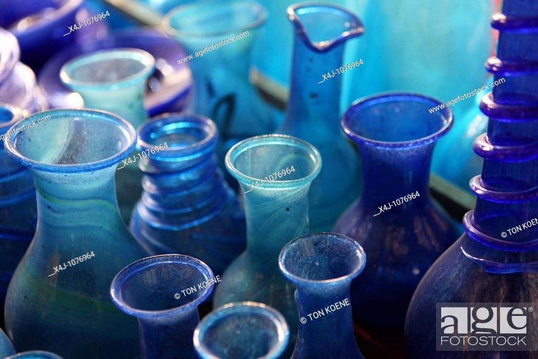 Stock Photo: Herat glass production in Afghanistan.