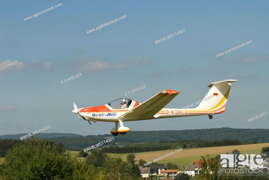 Touring motor glider Grob G 109, Germany, Saarland