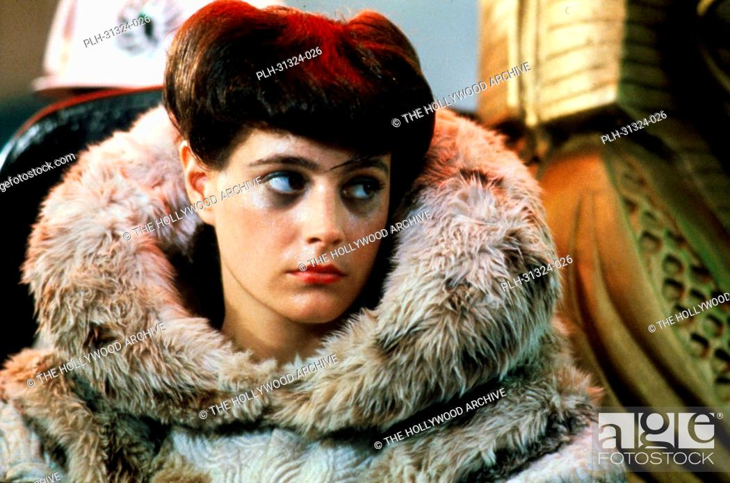 Stock Photo: Sean Young, 'Blade Runner' 1982.
