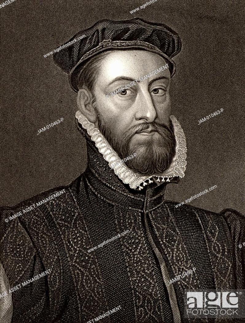 James Stewart, Earl of Moray c1531-1570 Scottish statesman Natural ...