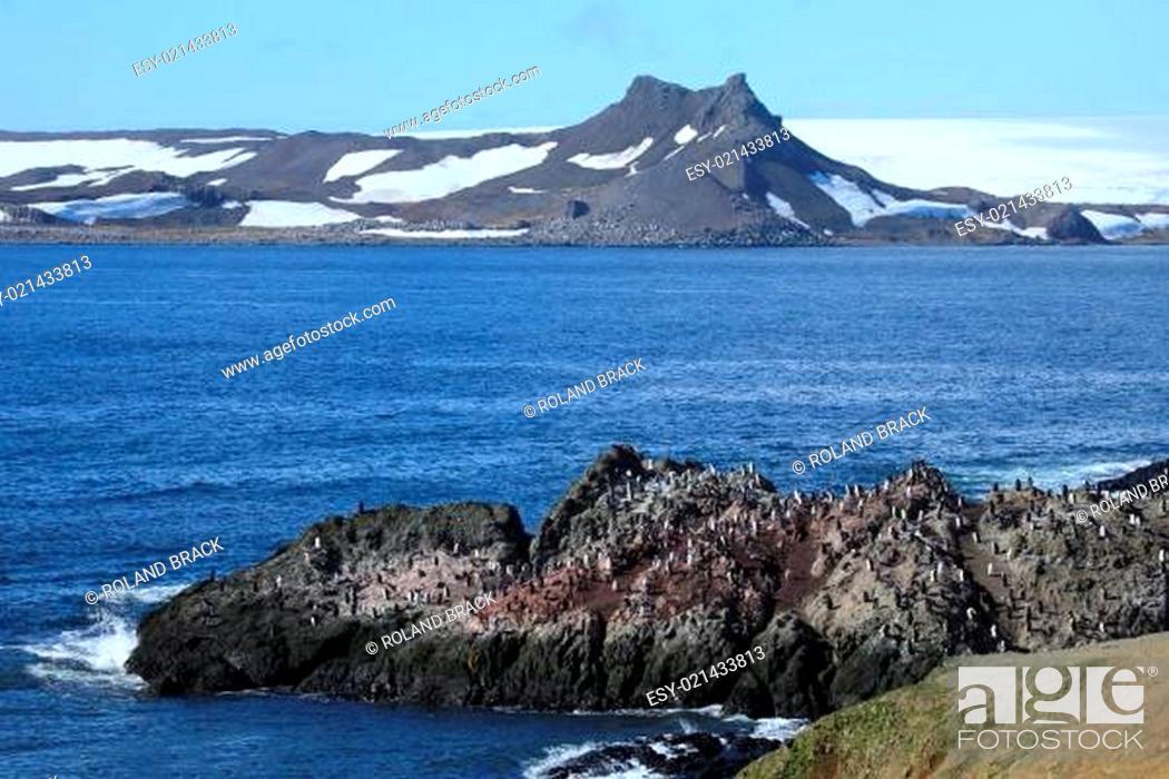 Stock Photo: Landschaften der Antarktis.