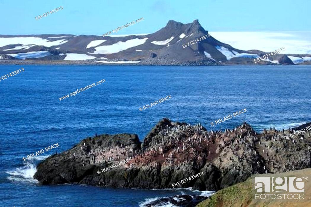 Imagen: Landschaften der Antarktis.