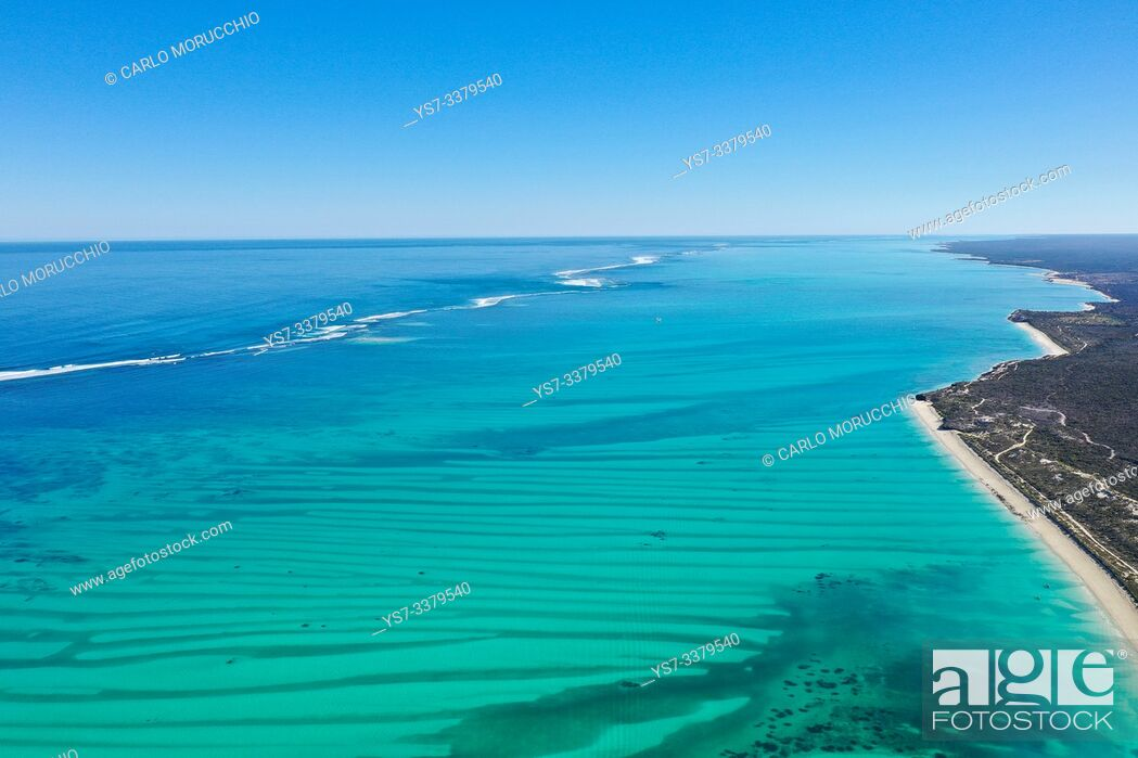 Stock Photo: Coral reef near Salary, South Western coast of Madagascar.