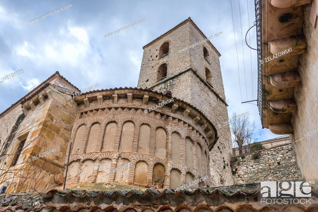 Stock Photo: Church of Santiago - Casa del Parue in Sepulveda town in Province of Segovia, Castile and Leon autonomous community in Spain.