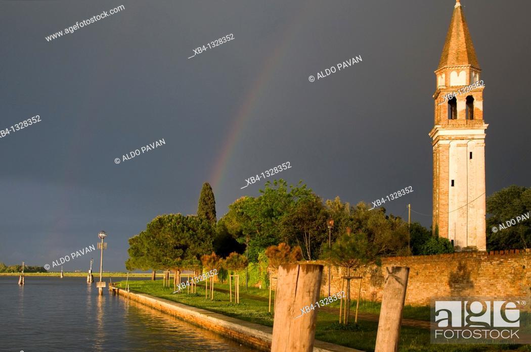 Stock Photo: Italy, Venice, Mazzorbo island, Estate of Scarpa Volo, now Venissa hotel and restaurant.