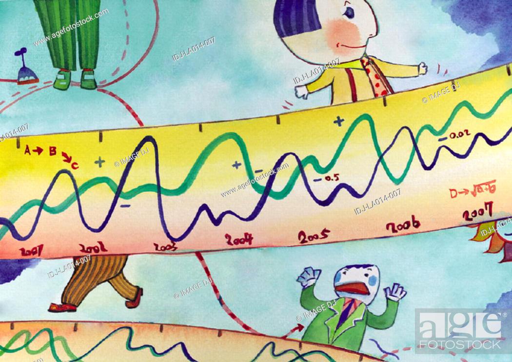 Stock Photo: Illustration - Business Day.