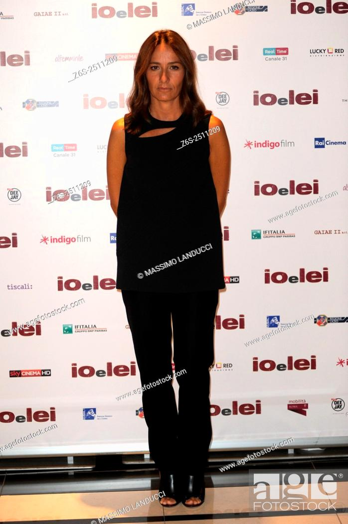 Imagen: Maria Sole Tognazzi;tognazzi ; actress; celebrities; 2015; rome; italy; event; photocall ; io e lei.