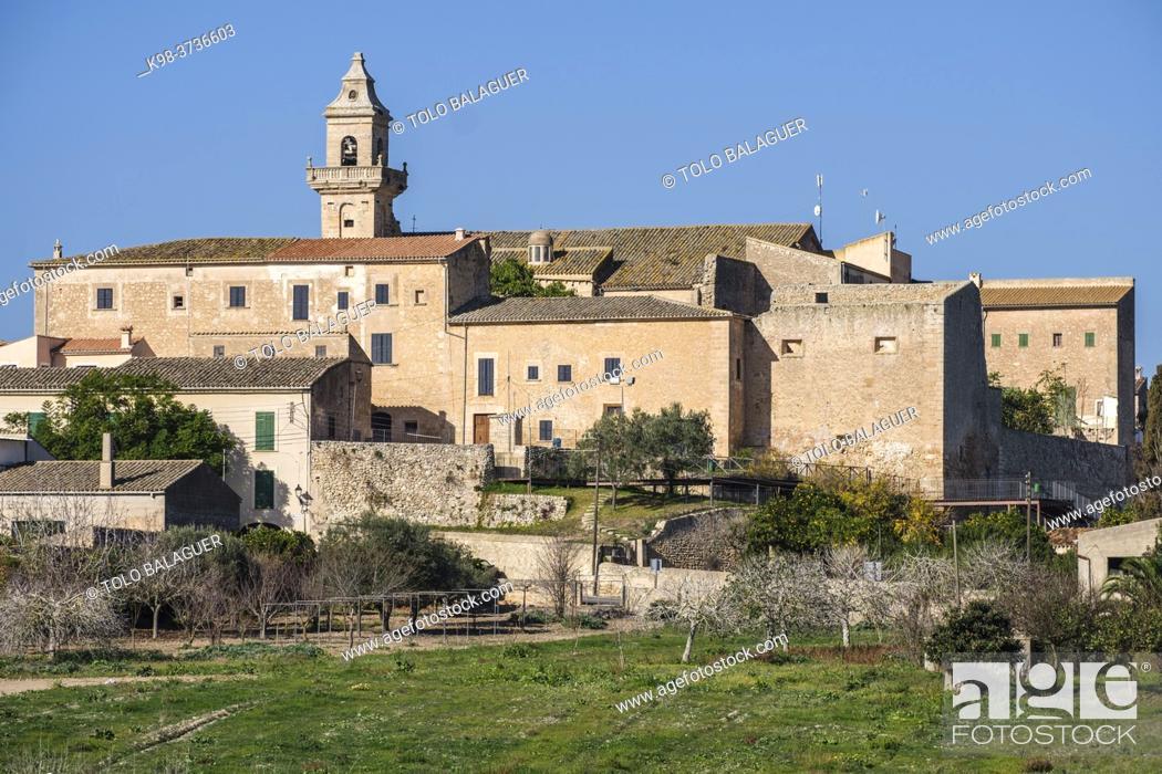 Stock Photo: Dominican convent, Lloret de Vista Alegre, Mallorca, Balearic Islands, Spain.