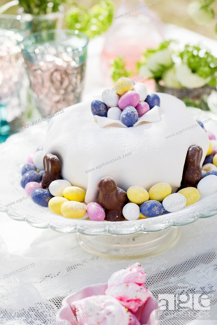 Stock Photo: Easter cake.