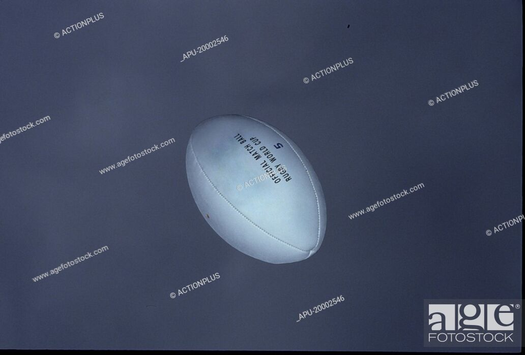 Stock Photo: Rugby ball.