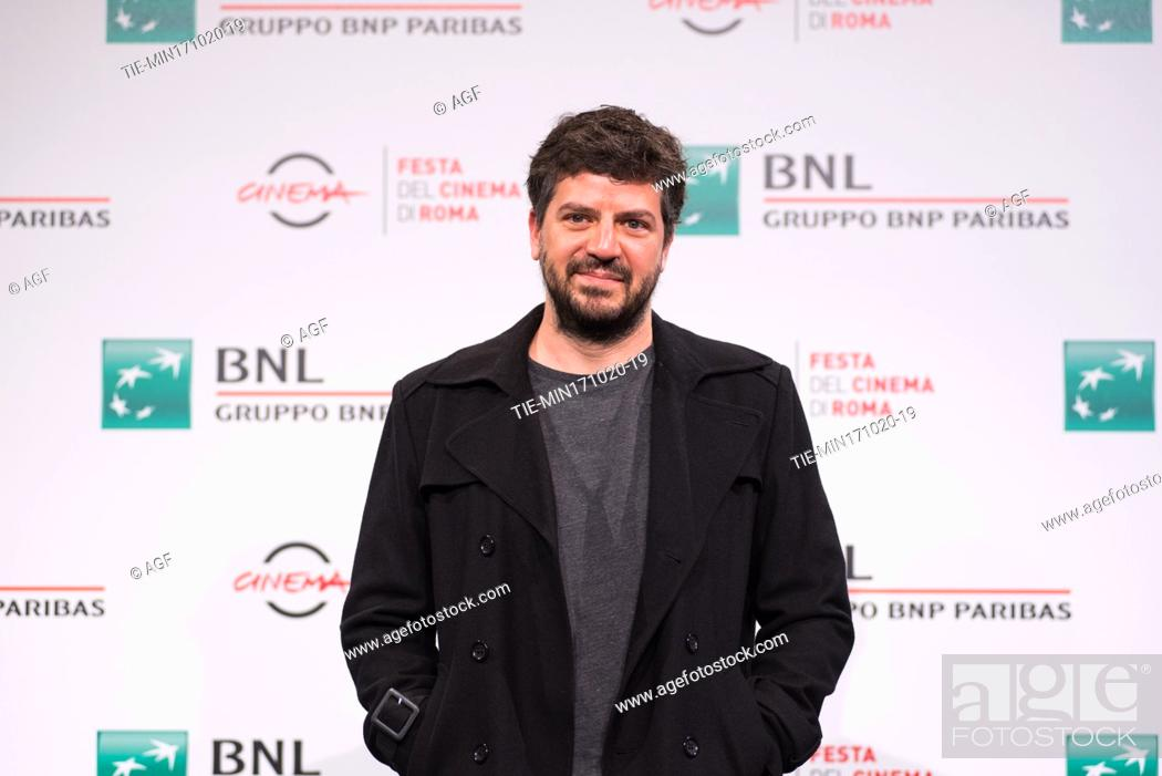 "Stock Photo: Rodrigo Fiallega attends the photocall of the movie """"Richochet"""" during the 15th Rome Film Festival on October 17, 2020 in Rome, Italy."