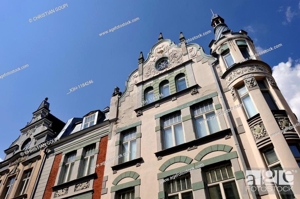Stock Photo: Voyeur's house, Tallinn, estonia, northern europe.