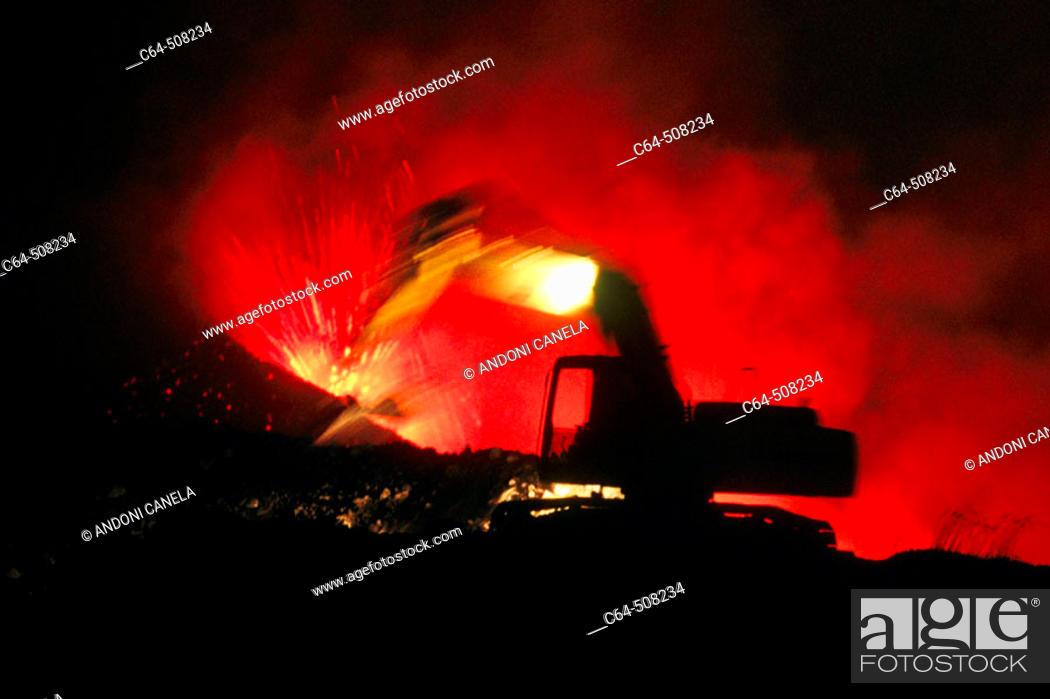 Stock Photo: Etna volcano. Sicily. Italy.