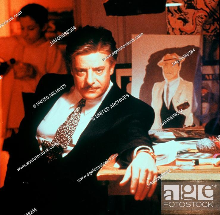 """Stock Photo: NEW YORKER GESCHICHTEN- Claudio (GIANCARLO GIANNINI) lebt getrennt von seiner Tochter Zoe. Regie: Francis Ford Coppola """"""""Leben ohne Zoe"""""""" Life Without Zoe / NEW."""