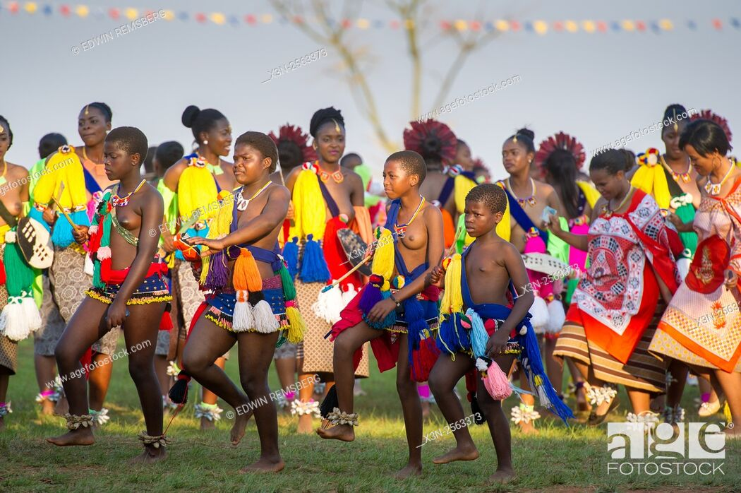 Agree Swaziland women reed dance let's