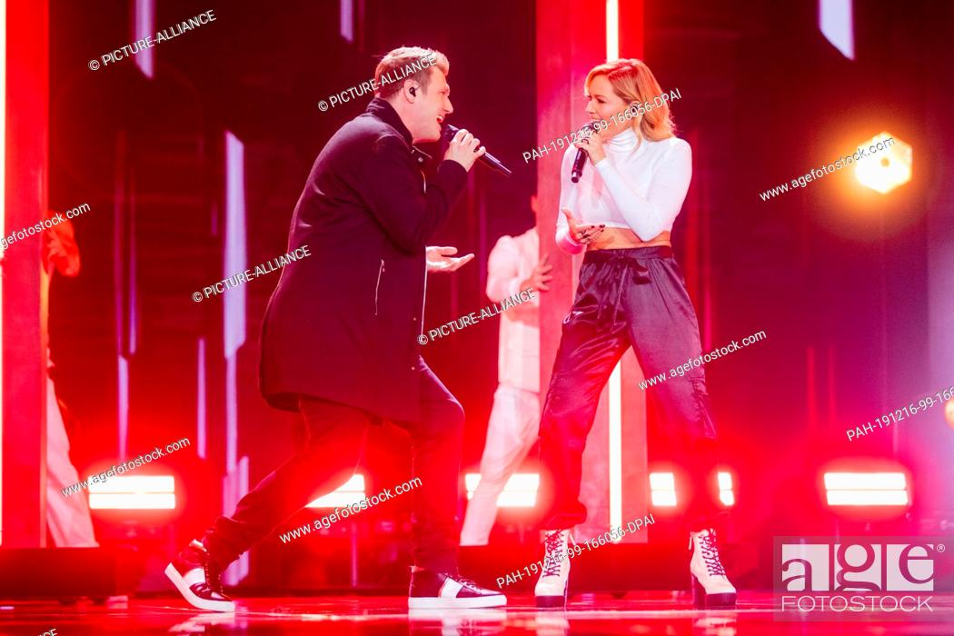 14 December 2019 North Rhine Westphalia Duesseldorf Helene Fischer And Nick Carter Will Perform Stock Photo Picture And Rights Managed Image Pic Pah 191216 99 166056 Dpai Agefotostock