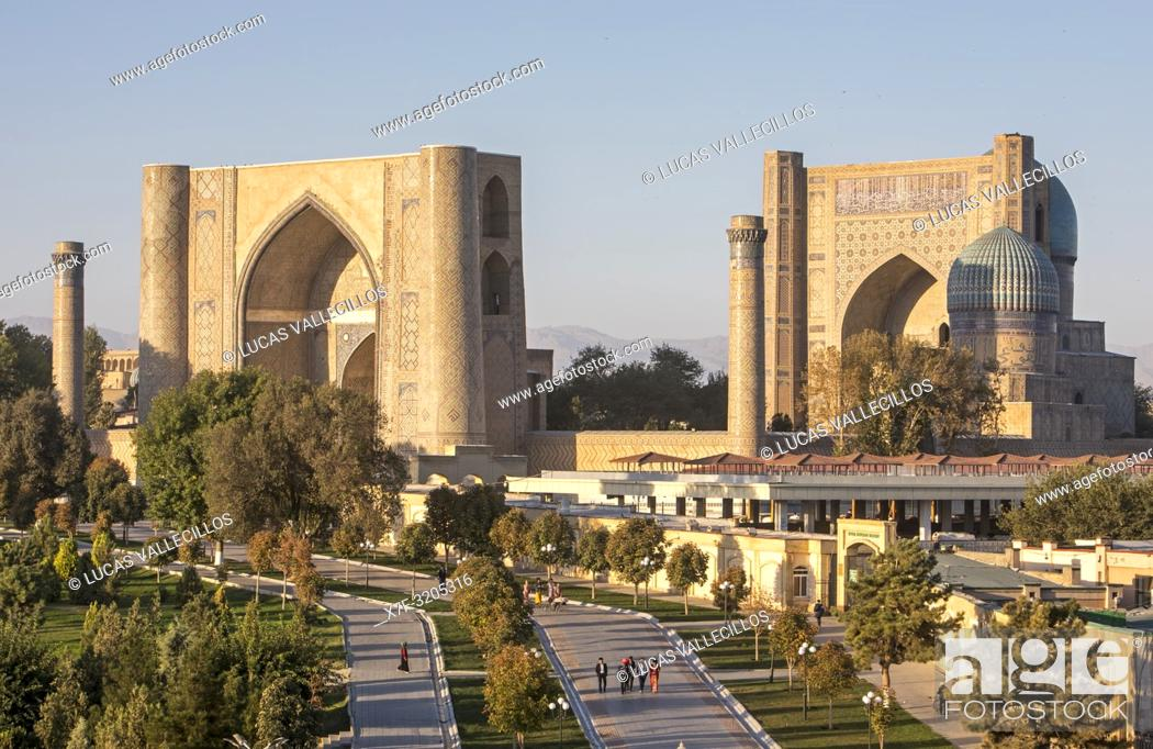 Imagen: Bibi-Khanym Mosque, Samarkand, Uzbekistan.