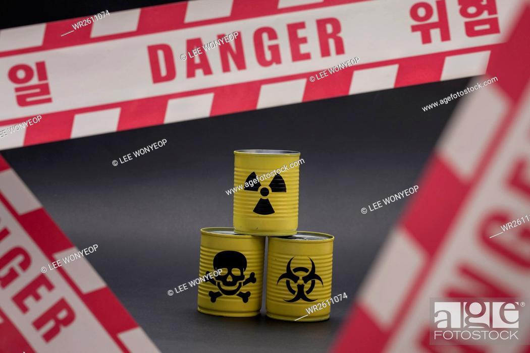 Imagen: Caution of poison.
