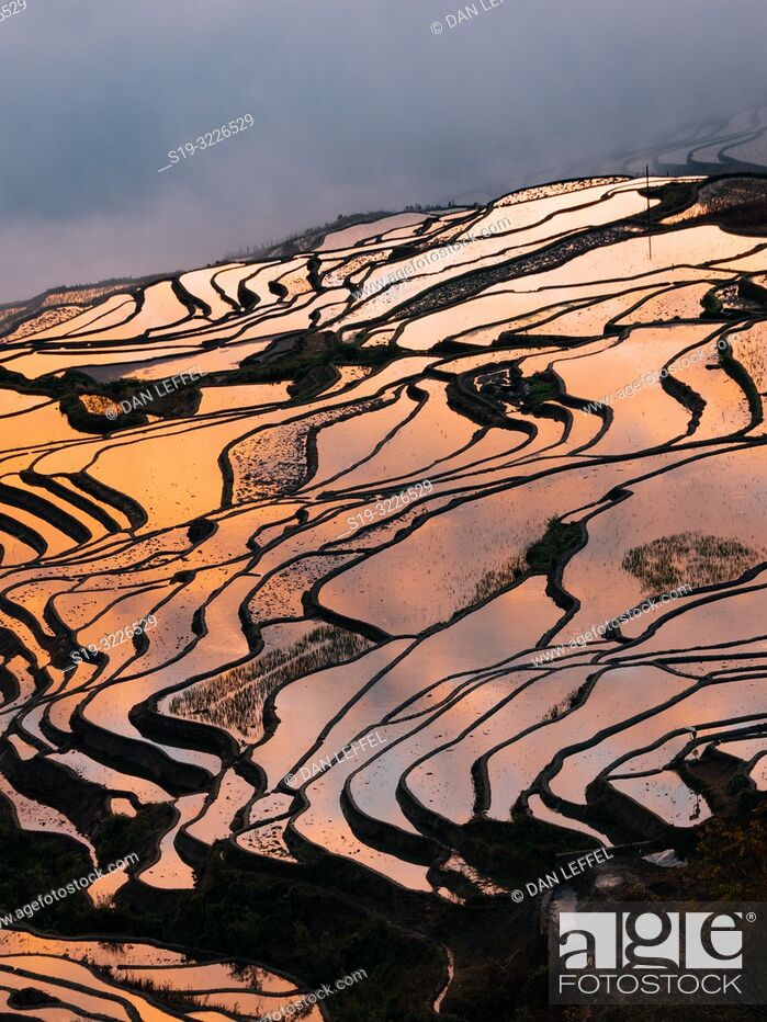 Stock Photo: China Yuanyang Area.
