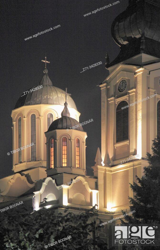 Stock Photo: Bosnia and Herzegovina, Sarajevo, Serbian Orthodox Cathedral.