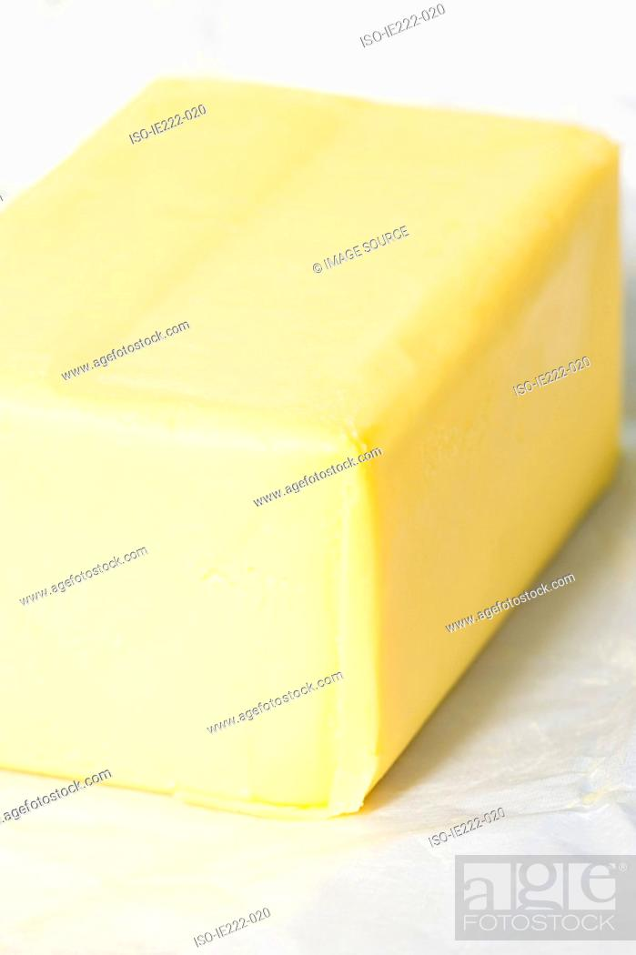 Stock Photo: Butter.