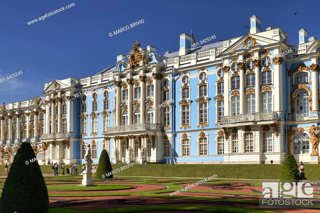 Imagen: St. Petersburg Russia. Catherine Palace Tsarkoe Selo in Pushkin.