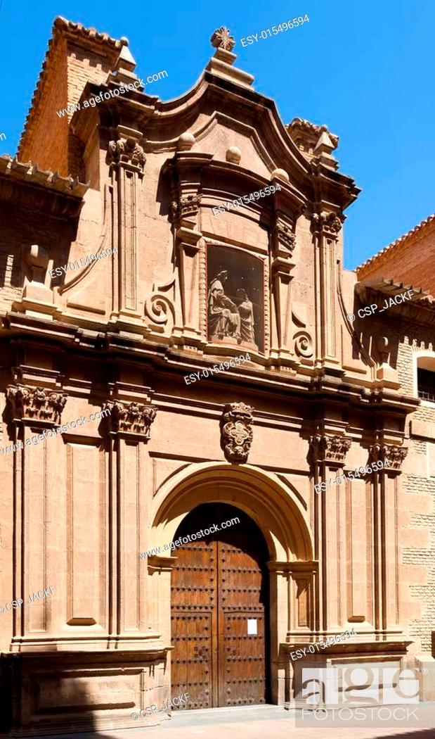 Stock Photo: Church of Santa Anna. Murcia.