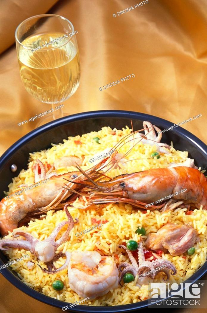 Stock Photo: Lobster , pablla valenciana , India.