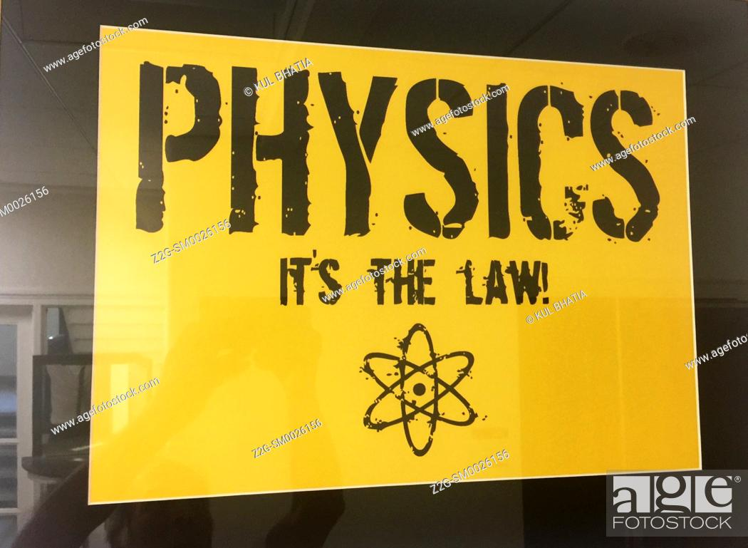 Imagen: An iconic image which emphasizes the laws of physics.