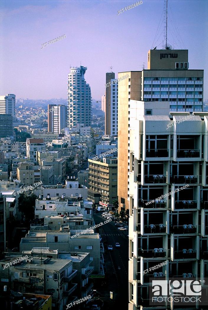 Stock Photo: Israel, Tel Aviv, downtown.