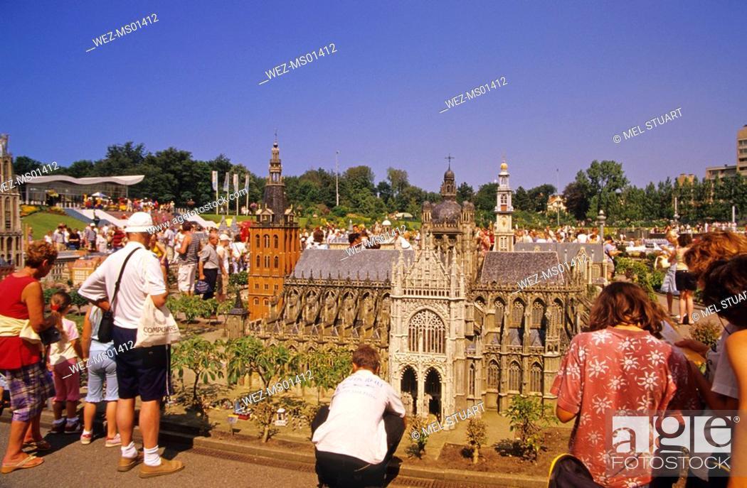 Stock Photo: Madurodam, Netherlands en miniature, Den Haag, Zuid-Holland, Netherlands.