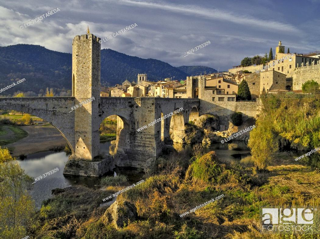 Stock Photo: Besalú. Girona. Spain.