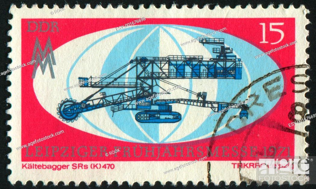 Stock Photo: postage stamp.