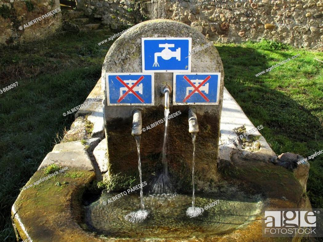 Stock Photo: Way of St. James, Spain.