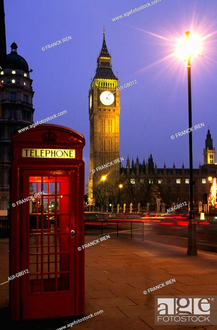 Stock Photo: Great Britain - London - Big Ben.